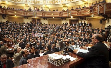 Egipat, Kairo, parlament