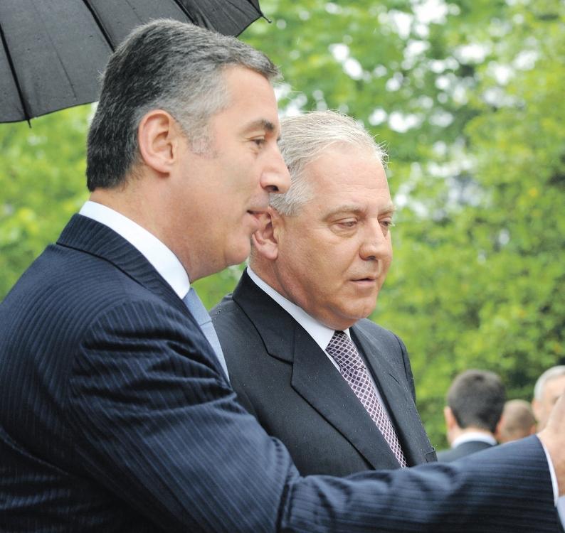 Milo Đukanović, Ivo Sanader