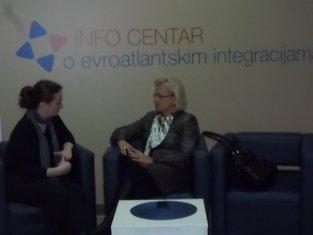 Grazina Sikorska, Info Centar