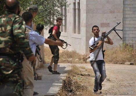 Sirija, pobunjenici