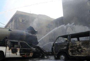 Sirija, bombe Damask
