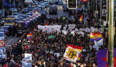 Protest policajca, Španija