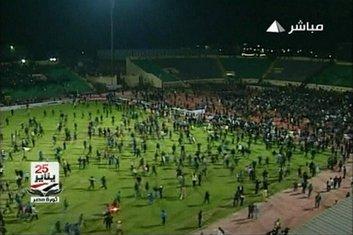 nasilje, utakmica, Egipat