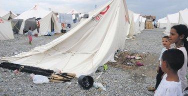 Konik, kamp, šatori