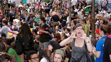 Okupiraj Vol strit, Zukoti park, Njujork