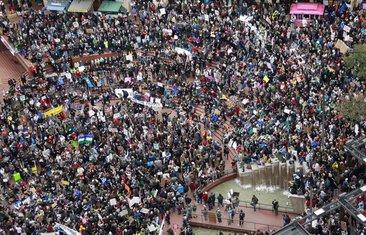 Vol strit protesti