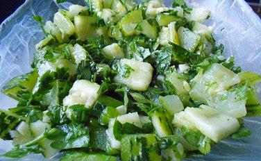 Salata od barenih tikvica