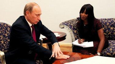 Putin + Naomi