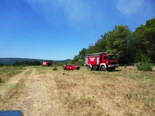 Požar Tivat, Vatrogasci