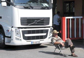 Prerada radnici KAP blokada