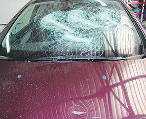 polomljeno auto