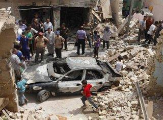 Irak, bombaški napad
