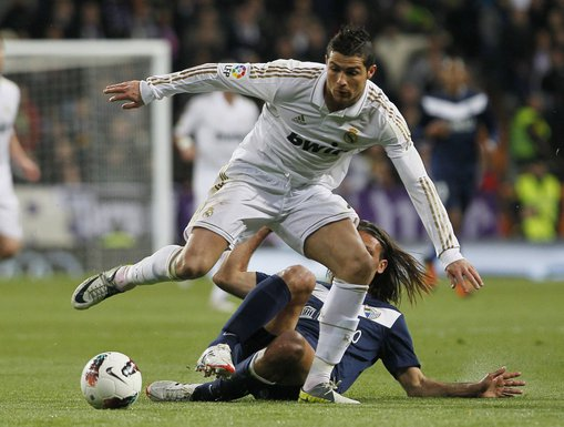 Kristijano Ronaldo i Martin Demikelis