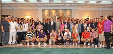 Lukšić i olimpijci
