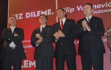 Đukanović, Vujanović, Krivokapić, Šturanović