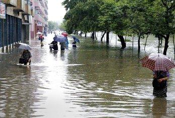 Sjeverna Koreja poplave