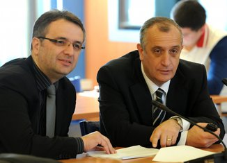 Goran Danilović i Predrag Bulatović
