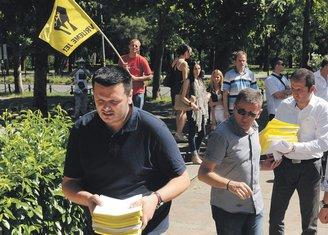 Zakon o taksama, Građanski front