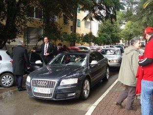 Ranko Krivokapić, službena auta, službeno putovanje