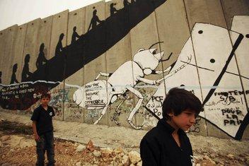 Izrael, zid