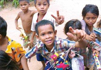 Kambodža, djeca