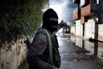 Sirija, Slobodna sirijska armija