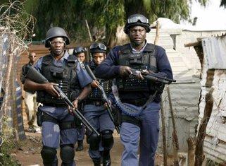 Južnoafrički policajci