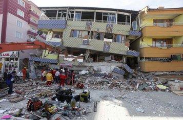turska, zemljotres, oktobar 2011