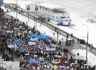 protest, Rusija