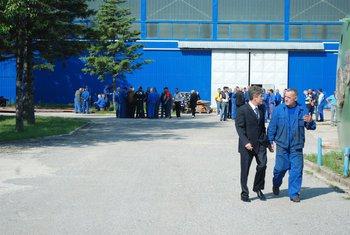 Radnici sa Kekovićem