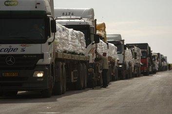 Kamioni humanitarna pomoć