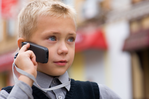 mobilni telefon, dijete