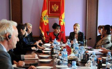 Vesna Medenica sa ambasadorima