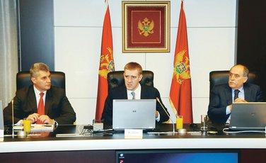 Ivan Brajović, Igor Lukšić, Milan Roćen