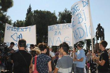 Studentska Unija, protest studenti