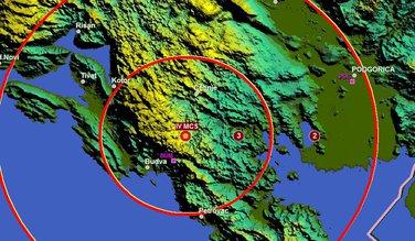 zemljotres Cetinje