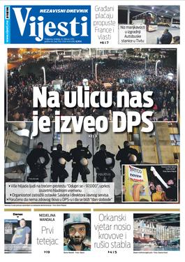 """Naslovna strana """"Vijesti"""" za 24. februar"""