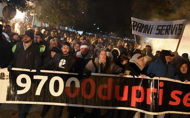 Protest prošao bez incidenata
