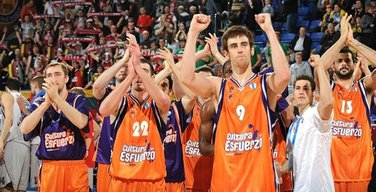 Košarkaši Valensije