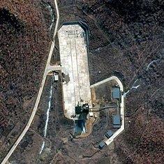 Sjeverna Koreja satelit