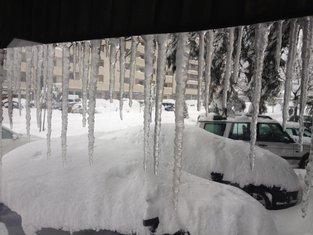 Podgorica, snijeg, G-kafe