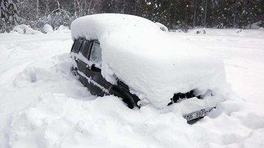 snijeg, Švedska