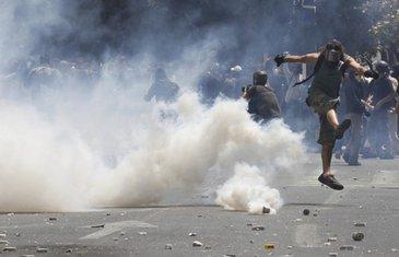 Grčka protesti