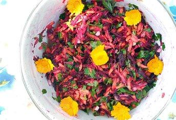 Salata od cvekle i šargarepe sa đumbirom