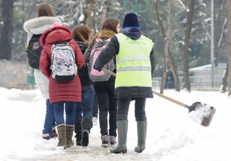 snijeg učenici