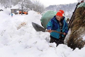 Platije snijeg