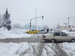 Podgorica, snijeg, ne poštuje se zabrana