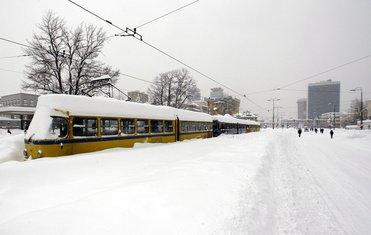 Sarajevo snijeg