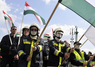Mađarska, protest