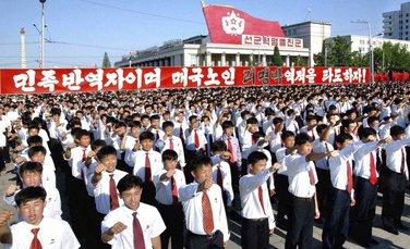 sjeverna koreja protesti